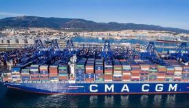 Aprobada la entrada de CMA CGM en la terminal de TTI Algeciras