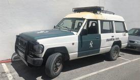 """Vehículo de la Guardia Civil denunciado como """"chatarra"""""""