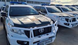 Los nuevos vehículos de la Guardia Civil. Foto: NG