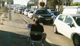 Colas de entrada a Gibraltar el mismo viernes que no han sido denunciadas públicamente