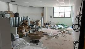 Los nuevos colegios de Gibraltar siguen en obras