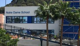 Colegio Notre Dame en Gibraltar. Foto NG