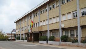 Fachada del Colegio Santa Ana, en La Línea de la Concepción