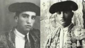 """Los toreros gibraltareños Domingo Danino y Manuel Danino """"El León de Gibraltar"""""""