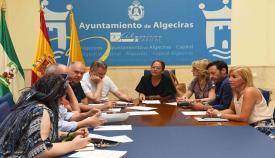Imagen de archivo de la Comisión de Participación Ciudadana de Algeciras