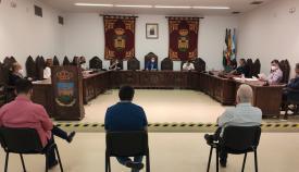 Un momento de la Comisión de Accesibilidad celebrada hoy. Foto: lalínea.es