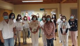 Imagen del equipo creado en el Área Sanitaria del Campo de Gibraltar Oeste.