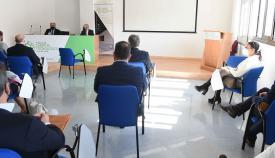 Landaluce recibe a la nueva comisión de logística y transporte de la CEC