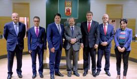 Primera reunión del Comité Selecto para el Brexit, constituido por Picardo