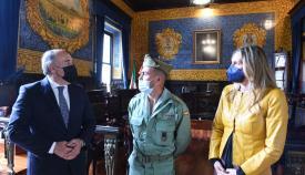 La Legión agradece la acogida de Algeciras. Foto AA