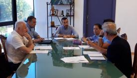 Juan Franco y sus tenientes de alcalde