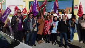 Imagen de archivo de una concentración de los sindicatos por las escuelas infantiles