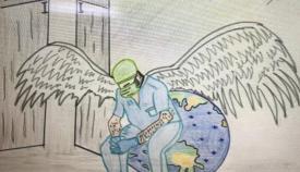 Más de 200 niños participan en el concurso de dibujo 'Gracias por cuidarnos'