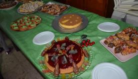Algunos de los pasteles presentados a concurso