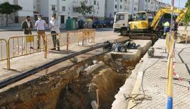 Emalgesa mejora el abastecimiento de la calle Juan Ramón Jiménez