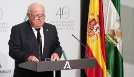 El consejero de Salud de la Junta, Jesús Aguirre