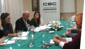 El consejo de la Confederación de Empresarios se ha reunido en Algeciras