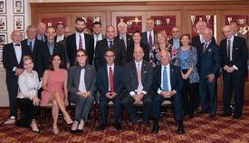 Foto de familia del acto del Consejo Gibraltareño-Americano