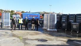 Algeciras adquiere 400 papeleras y 90 nuevos contenedores
