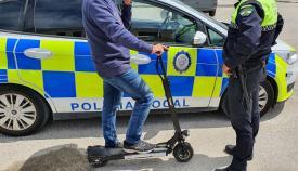 Arranca una campaña para controlar los patinetes eléctricos en Algeciras