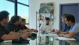 La reunión de coordinación del nuevo centro se ha celebrado hoy