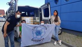 Coordinadora Solidaria entrega 426 kilos de alimentos a familias de La Bajadilla
