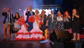 Acto de coronación en la Feria de la Estación de 2019