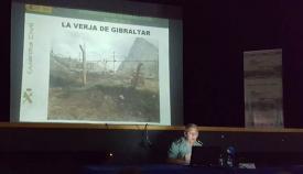 Exposición del coronel de la Guardia Civil Jesús Núñez