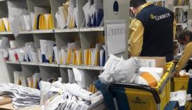 En CCOO consideran que Correos debe contratar más personal. Foto CCOO