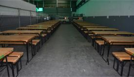 Foto del centro abierto en Crinavis para acoger a los migrantes