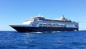 El crucero Veendam