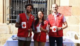 Cruz Roja recauda fondos con el Día de la Banderita