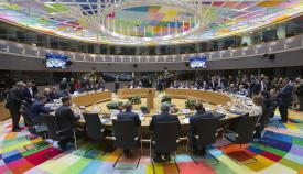 Sesión del Consejo de Europa