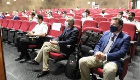 Acto inaugural del curso, en las instalaciones del Centro de Evaluación y Certificación para el Combate, en Rota. Foto ARMADA