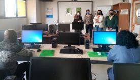 Continúa la desinfección de centros y edificios de la ERACIS en Algeciras
