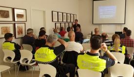 Un curso de agentes de la Policía Local. Foto: lalínea.es
