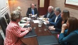 El consejero de Salud, con el alcalde de Algeciras