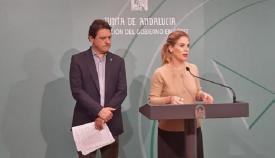 Daniel Sánchez y Ana Mestre, en una imagen de archivo