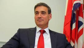 Daniel Feetham, exlider del GSD en Gibraltar