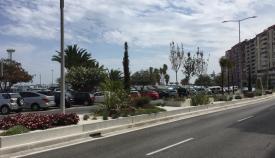 Inauguradas las nuevas medianas de la avenida Virgen del Carmen
