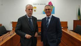 Arturo Avello (izda) y Juan Lozano