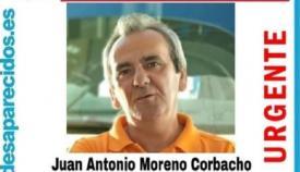 Juan Antonio Moreno ha sido encontrado sin vida. Foto: NG