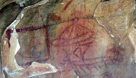 Detalle de la cueva Laja Alta de Jimena, publicado en la web municipal.