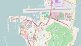Imagen del callejero de Gibraltar. Foto Wikipedia