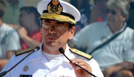 El almirante Eugenio del Río Jáudenes, nuevo ALFLOT, en una imagen de archivo