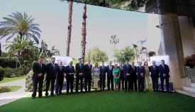 Directiva de la Asociación de las Grandes Industrias (AGI) del Campo de Gibraltar