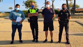 La AAVV San Bernabé, Policía y Participación estudian una mayor seguridad