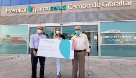 Quirónsalud ha donado 15.000 euros