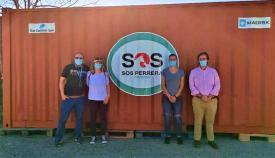 El contenedor donado a SOS Perrera Los Barrios