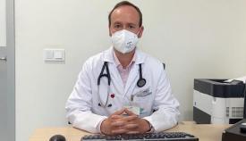 El cardiólogo del Quirónsalud Campo de Gibraltar, el doctor Manuel Jesús Ruiz